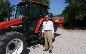 Luciano Lanza, campione di produzione di mais, pensa alla nuova PAC
