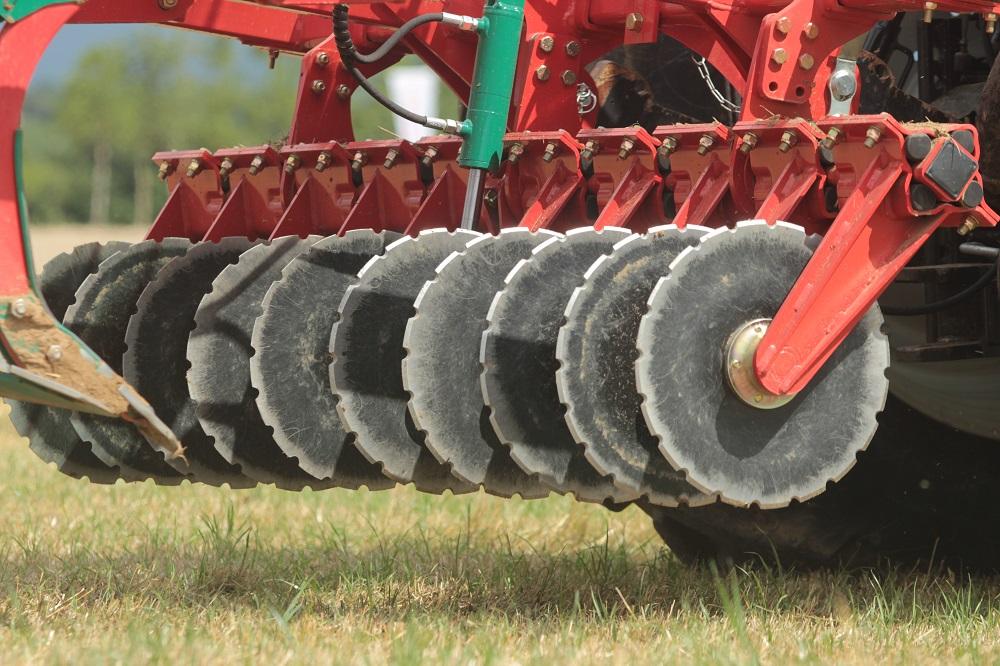 La nuova dischiera del coltivatore Kverneland CLC Pro