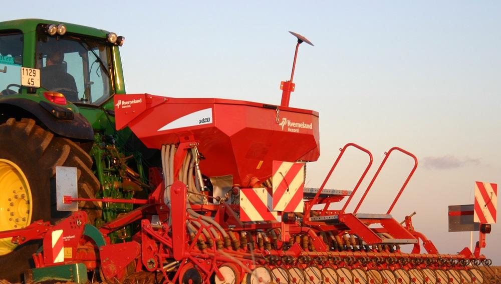 La seminatrice s-drill di Kverneland è un'attrezzatura idonea alla semina su sodo.