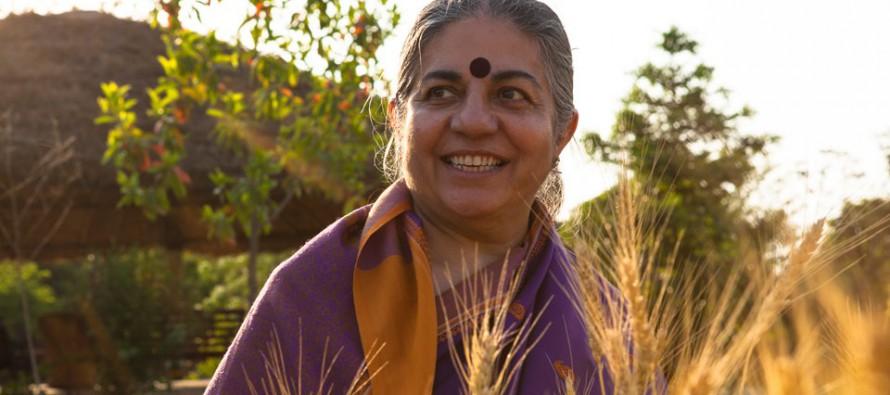 L'ambientalista indiana Shiva critica, ma non conosce l'agricoltura moderna