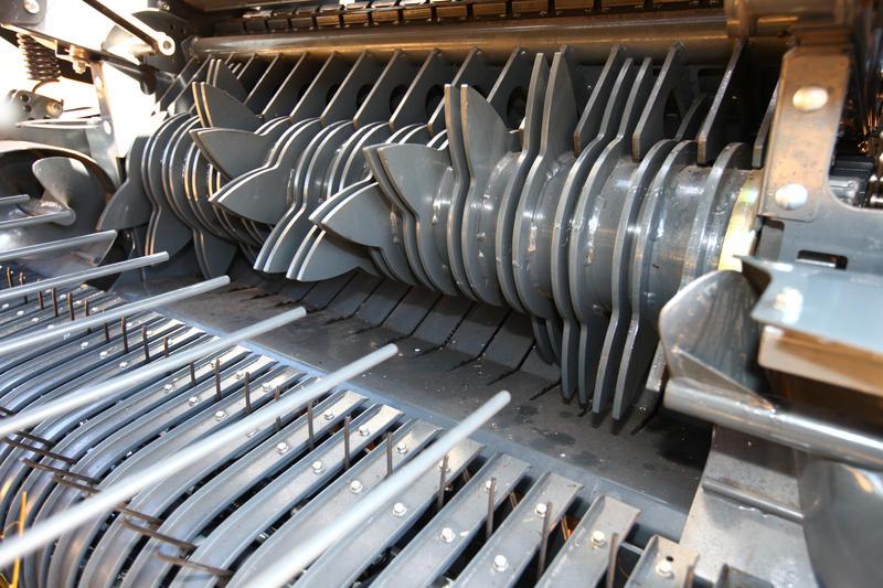 Il rotore SuperCut a 14 coltelli.