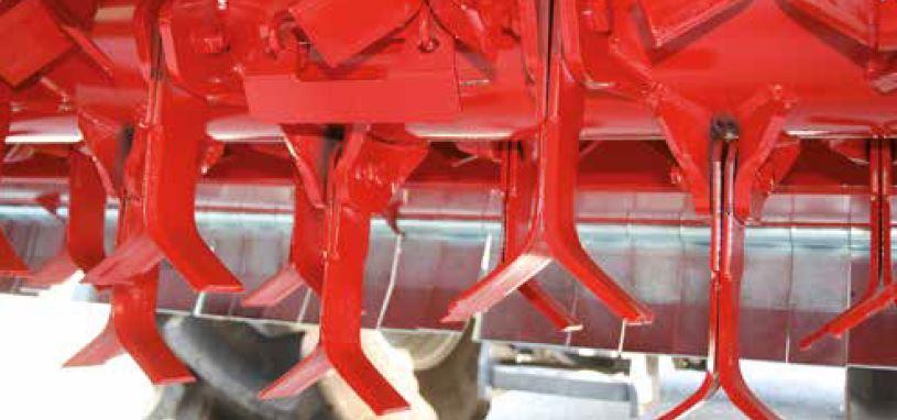 Il rotore con diametro di 760 mm per un taglio eccellente dei residui più difficili.