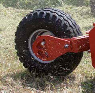 Le ruote semi-pivottanti.
