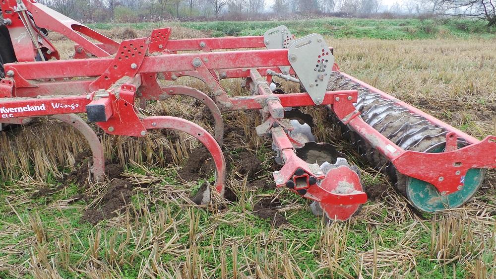 Un esempio di attrezzatura per la minima lavorazione del terreno, il cui acquisto può essere supportato dai nuovi PSR regionali.