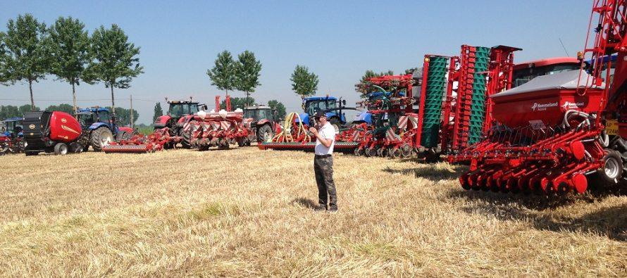 A Cremona scendono in campo le attrezzature Vicon per raccogliere preservando la qualità dei foraggi