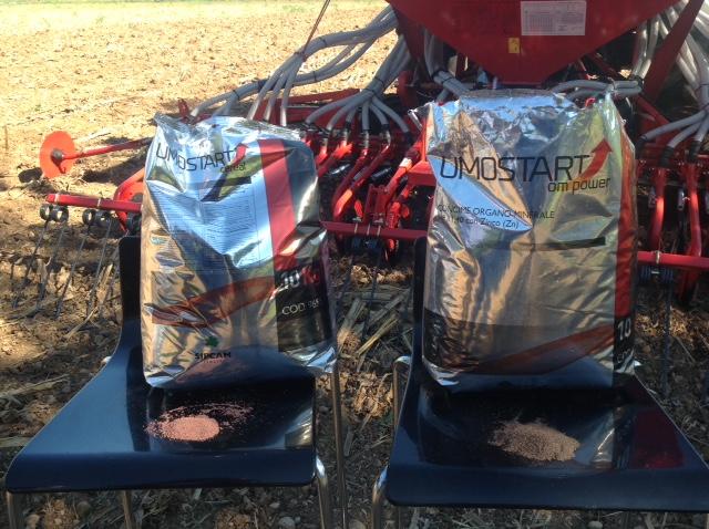 Il fertilizzante microgranulare da distribuire alla semina a dosi molto basse.
