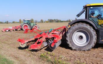 Minima lavorazione con due passaggi di CLC e Qualidisc: terreno ben livellato e pronto per la semina