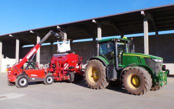 Cereali, minima lavorazione e semina a 18 km/h: la prima messa in campo della Kverneland u-drill