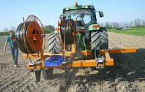 Agricoltura, più risorse per l'irrigazione con ali gocciolanti