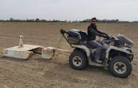 Soia, mappatura del suolo per programmare la semina a dose variabile
