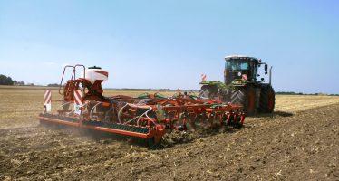 Come seminare le cover crops sulle stoppie in un solo passaggio