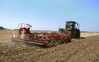 I cantieri per la semina delle cover crops